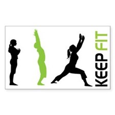 Keep Fit Decal