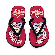 Reds Flip Flops