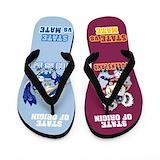 Australian state of origin Flip Flops