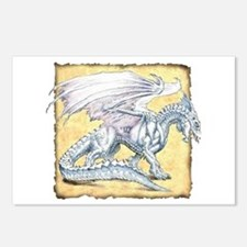 White Dragon Postcards (Package of 8)