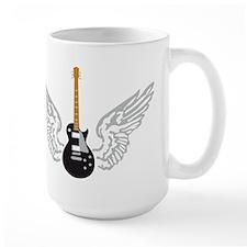 e-guitar player wings Mug