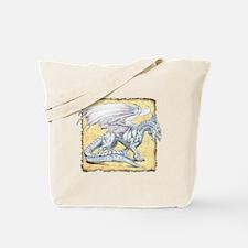 White Dragon Tote Bag