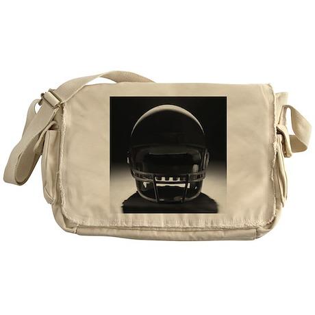 Football Helmet Messenger Bag