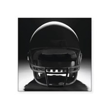 "Football Helmet Square Sticker 3"" x 3"""