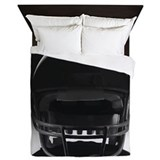 Football helmet Duvet Covers