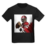 Football Players Kids Dark T-Shirt