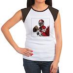 Football Players Women's Cap Sleeve T-Shirt