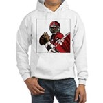 Football Players Hooded Sweatshirt
