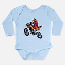 Motorcross Long Sleeve Infant Bodysuit