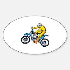 Motorcross Sticker (Oval)