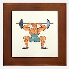 Fitness Framed Tile