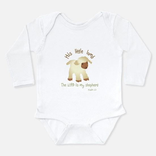 2-His little lamb Blank Body Suit
