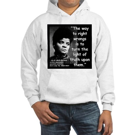 Wells Truth Quote 2 Hooded Sweatshirt
