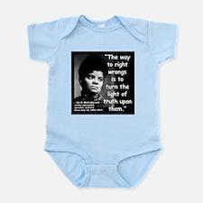 Wells Truth Quote 2 Infant Bodysuit