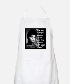 Wells Truth Quote 2 Apron