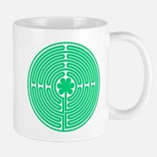 Green Labyrinth Mug