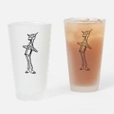 Tinman in Love Drinking Glass