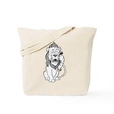 Cowardly Lion Tote Bag
