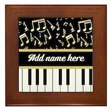 Music Framed Tiles