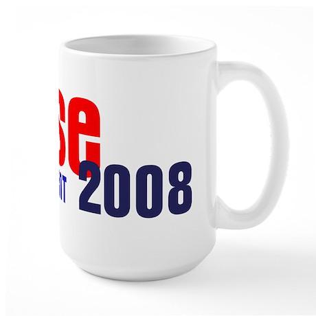 Reese for President 2008 Large Mug