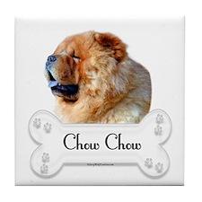 Chow 1 Tile Coaster