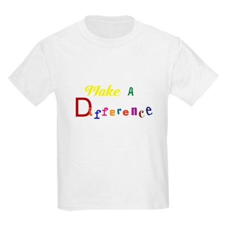 Make a difference Kids Light T-Shirt