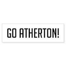 Go Atherton Bumper Bumper Sticker