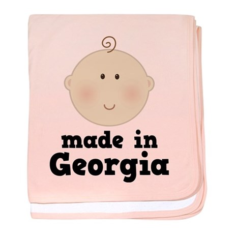 Made In Georgia baby blanket
