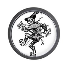 Scarecrow Skanking Wall Clock