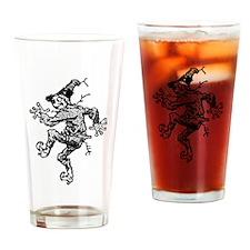 Scarecrow Skanking Drinking Glass