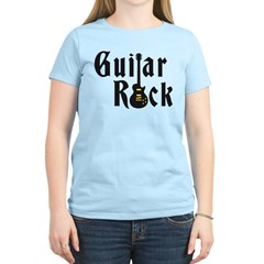 e-guitar rock Women's Light T-Shirt