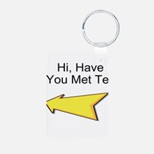 Hi Have You Met Ted? Keychains