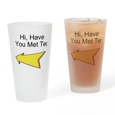Hi Have You Met Ted? Drinking Glass
