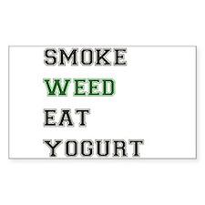 Smoke Weed Eat Yogurt Decal