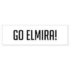 Go Elmira Bumper Bumper Sticker
