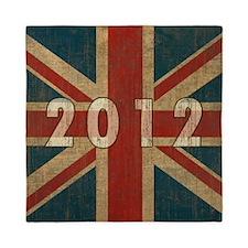 Vintage Union Jack 2012 Queen Duvet