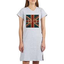 Vintage Union Jack 2012 Women's Nightshirt