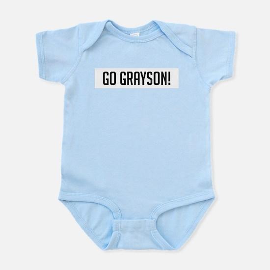 Go Grayson Infant Creeper