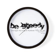 Be Greedy Wall Clock