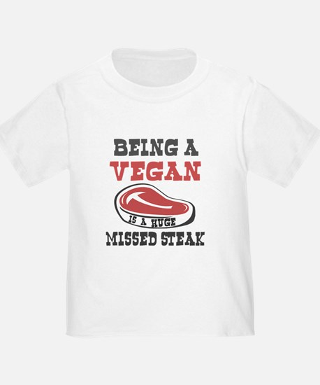 Vegetarian or Vegan Huge Missed Steak T