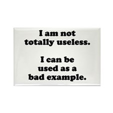I am not totally useless used as bad example Recta