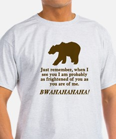 Bears Are Just As Afraid T-Shirt