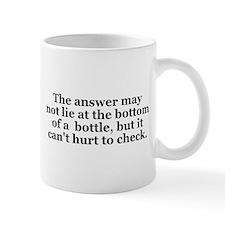 Answer Bottom of Bottle Small Mugs