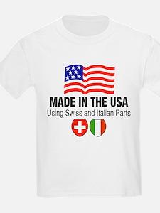 Swiss Italian Parts Kids T-Shirt