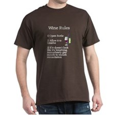 Wine Rules Breathe T-Shirt