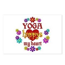 Yoga Happy Postcards (Package of 8)