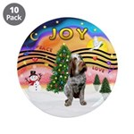 """Xmusic2-Spinone (c) 3.5"""" Button (10 pack)"""