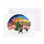 Xmusic2-Spinone (c) Greeting Cards (Pk of 10)
