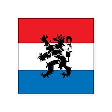 "Netherlands Square Sticker 3"" x 3"""