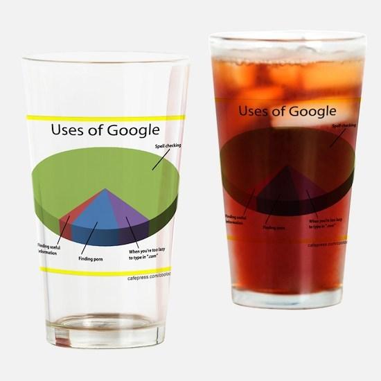 Google Uses Drinking Glass
